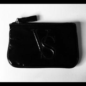 Victoria's Secret | Black Patent Clutch Wristlet